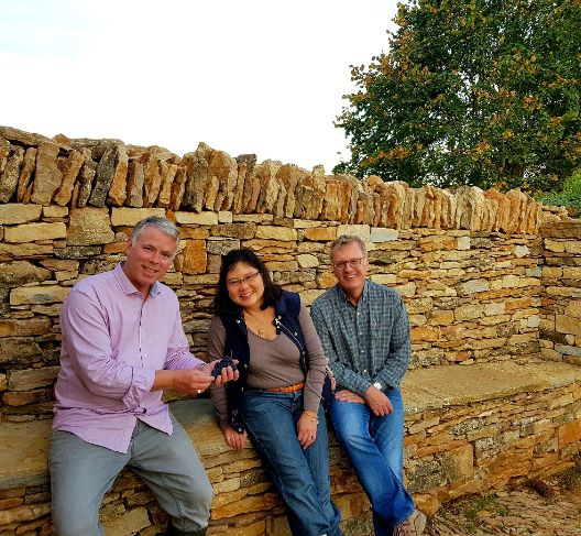 Claudio, PM and David at Les Evocelles