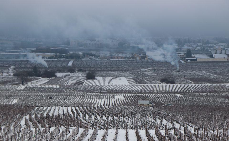 Les Evocelles in Winter