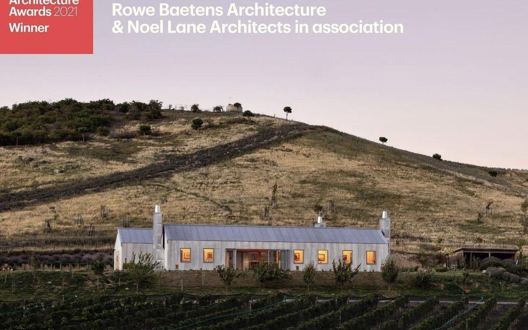 PRESS RELEASE: Domaine Thomson Wins Architecture Award